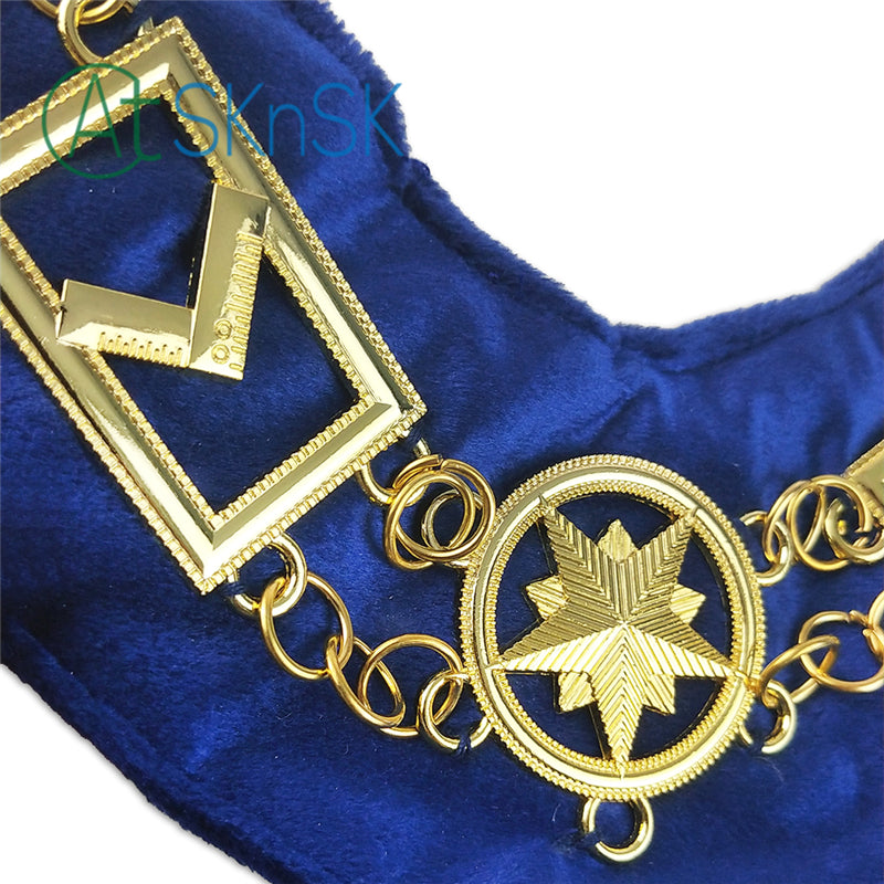Masonic Grand Lodge Craft Working Tools Chain Collar