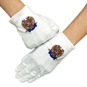 Masonic Scottish Rite 32 Degree White Gloves