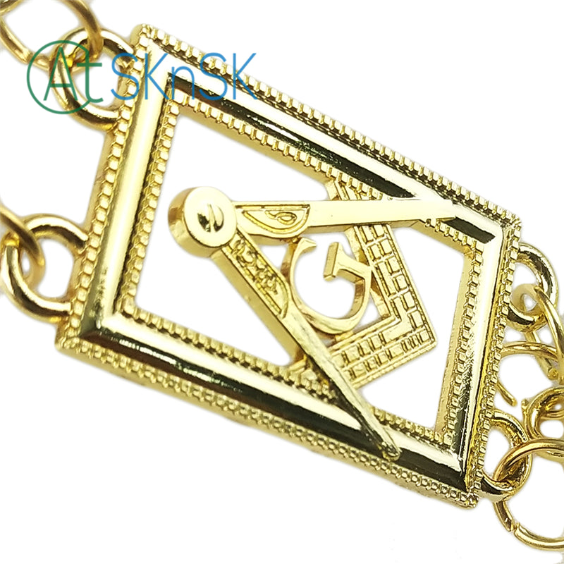 Masonic Grand Lodge Master Mason Chain Collar