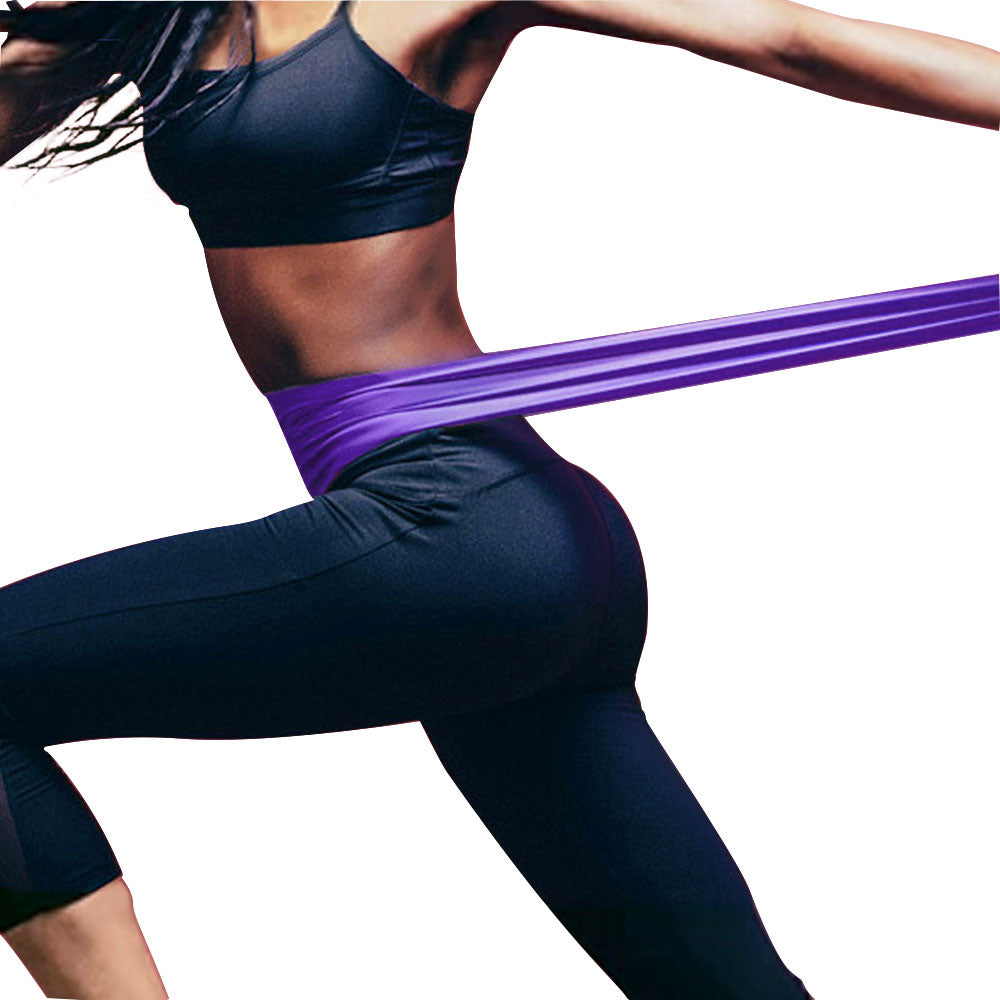3color in a set Long Resistance Bands for Home Exercise Yoga Workout Sport Equipment for Arms Shoulders Legs Workout