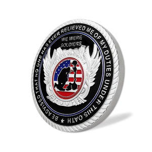 United States Veteran Oath Soldiers Military Challenge Coin