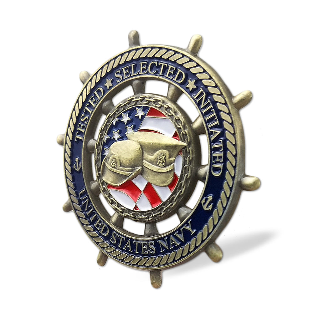 United States Navy Chief Petty Officer Challenge Coin