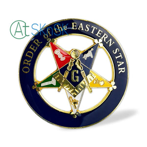 Masonic Order of the Eastern Star Car Auto Emblem