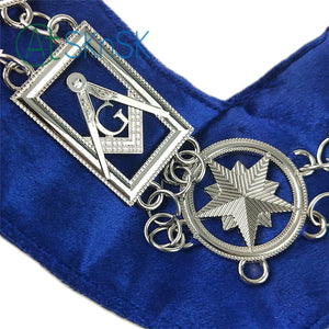 Masonic Blue Lodge Master Mason Chain Collar