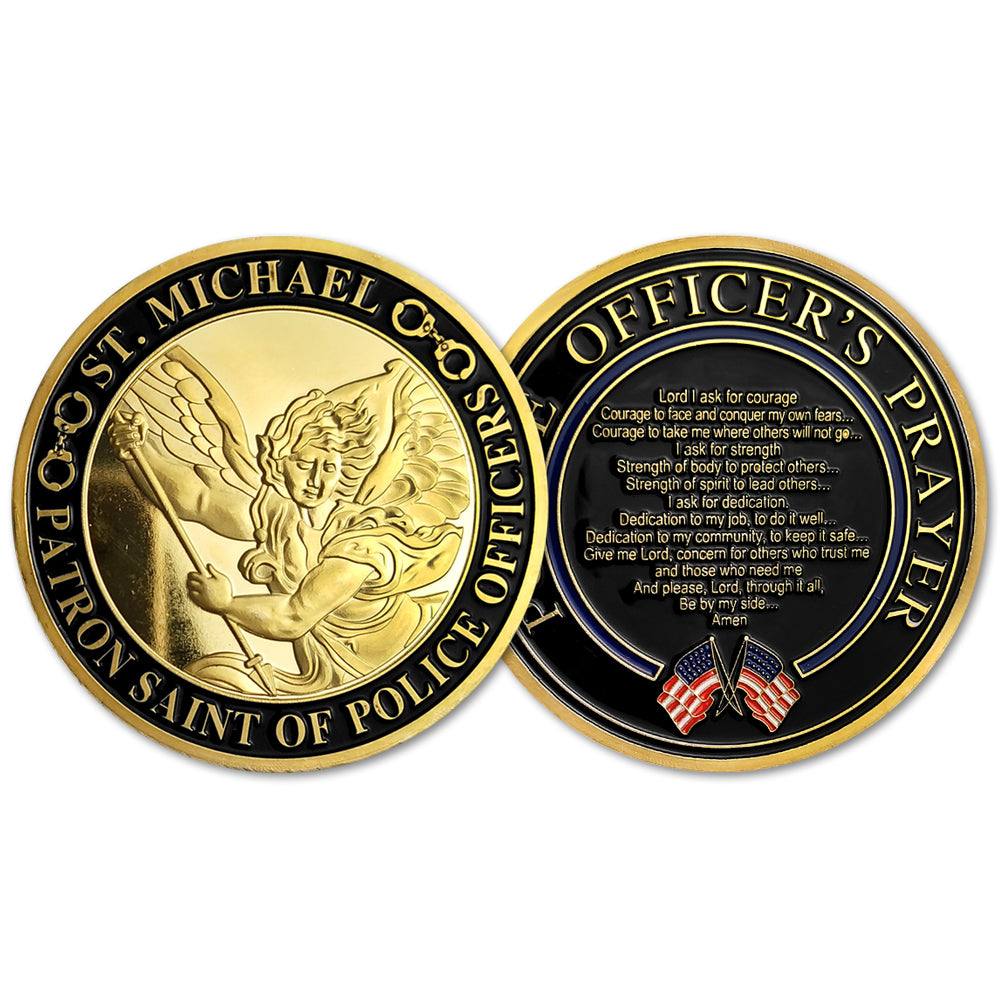 LEO Challenge Coin Gift Pack 6 Coins