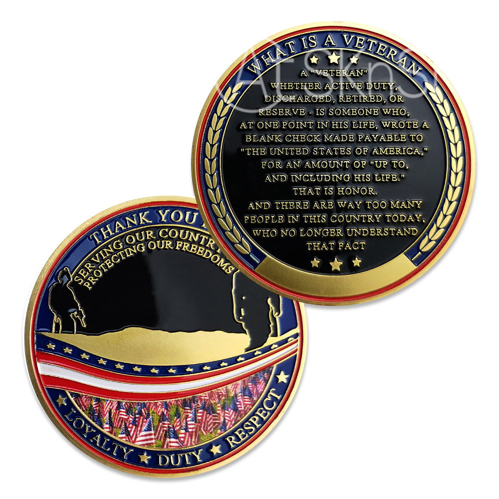 What Is A Veteran Challenge Coin