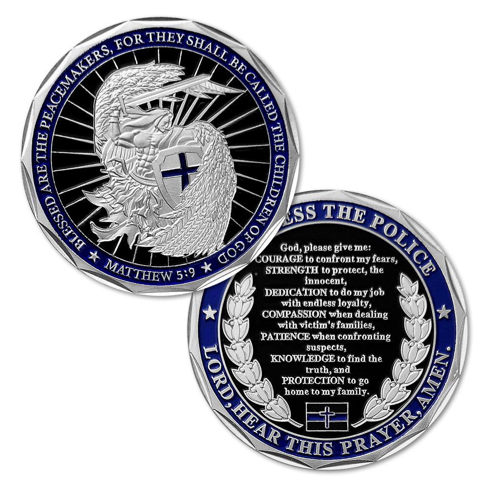 Saint Michael Law Enforcement Challenge Coin