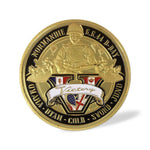 1944 World War 2 D-Day Normandie Challenge Coin