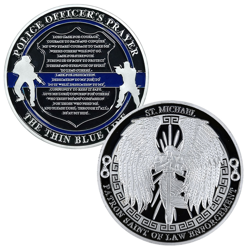 St Michael Guardian Angel Challenge Coin