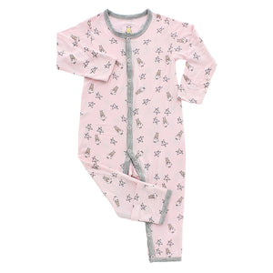 Romper Pink Small Star & Sheepz
