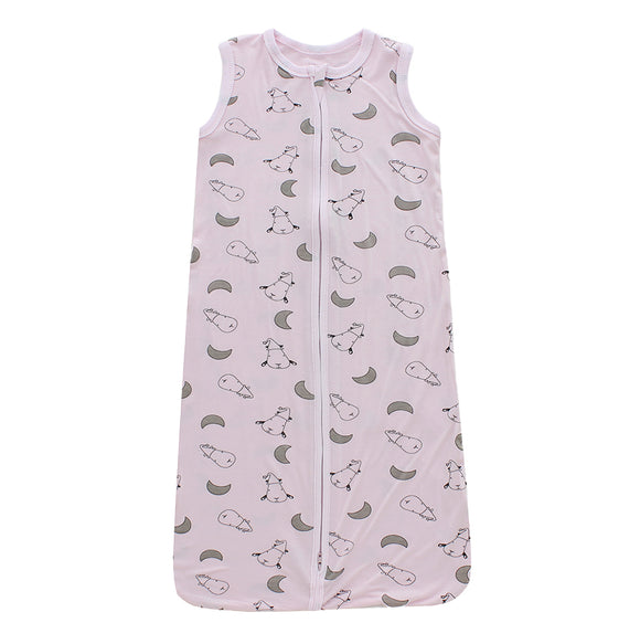 Wearable Blanket Zip Small Moon & Sheepz Pink