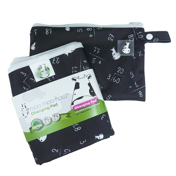 Changing Pad Travel Size Maths Black