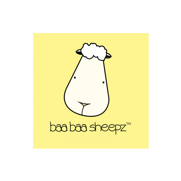 Greetings Card - Baa Baa Sheepz Yellow