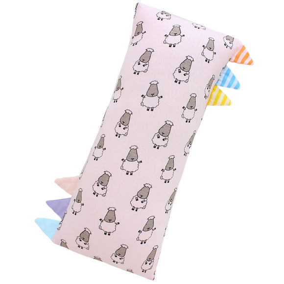 Bed-Time Buddy™ Small Sheepz Pink with Color & Stripe tag - Small