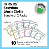 CrokCrokFrok Bamboo Wash Cloth Bundle