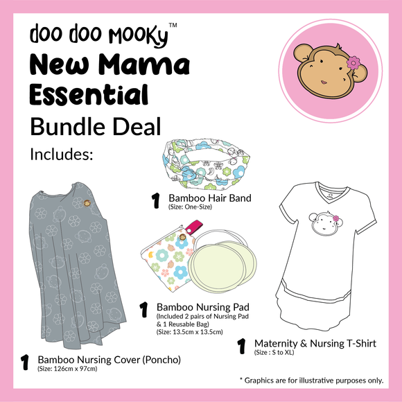 DooDooMooky New Mama Essential Bundle Deal