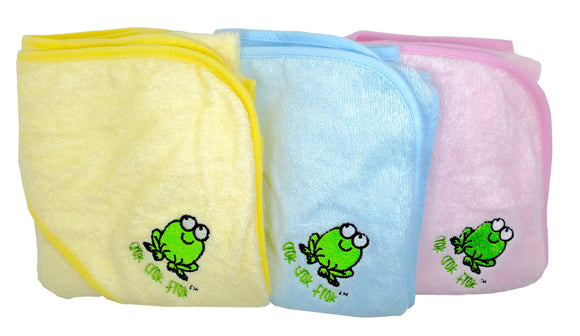 Clearance Imperfect Crok Crok Frok Bamboo Hooded Towel