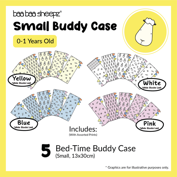 Small Bed-Time™ Buddy Case Bundle of 5