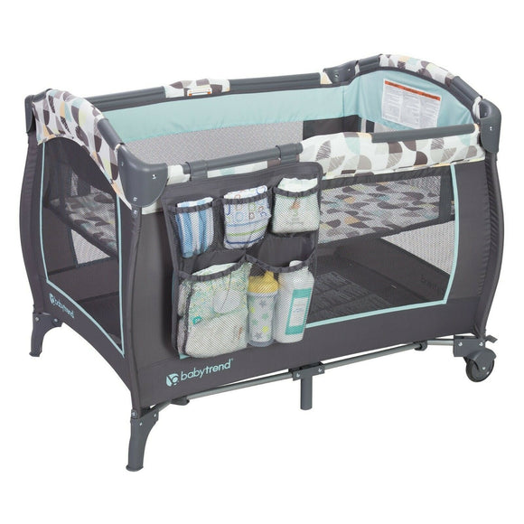 BabyTrend Trend-E Nursery Center  (Playpen)  - Doodle Dots