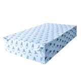 Mattress Sheet Blue Big Sheepz