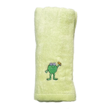 CrokCrokFrok Bamboo Towel for Baby & Kids - Apple Green - Small
