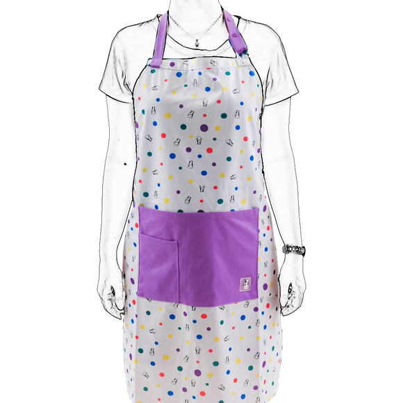 Bath Time Apron - Dot Dot