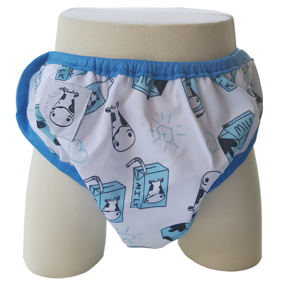 One Size Swim Diaper Milk Milk