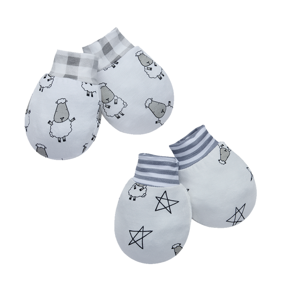 Mittens Small Sheepz + Small Star & Sheepz 2pairs set2