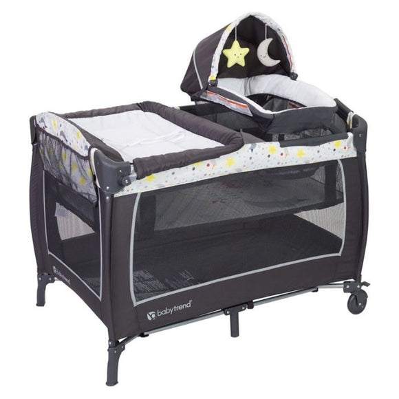 BabyTrend LIL Snooze Deluxe II Nursery Center - Twinkle Twinkle Little Moon