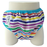 One Size Swim Diaper Rainbow