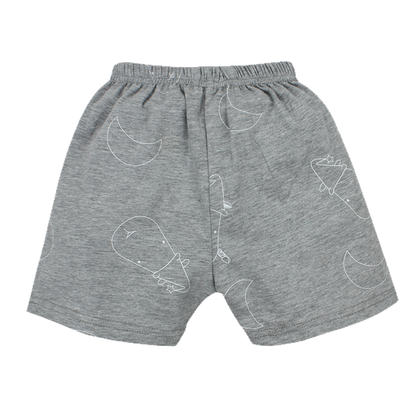 Short Pants Grey Big Moon & Sheepz