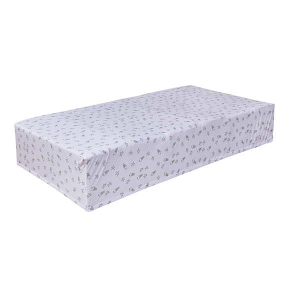 bamboo mattress sheet pink