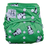 Cloth Diaper One Size Snap - Lucky Kow