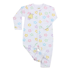 bamboo romper colourful