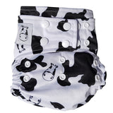 Cloth Diaper One Size Snap - Moo Moo