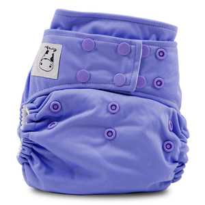 Cloth Diaper One Size Snap - Purple
