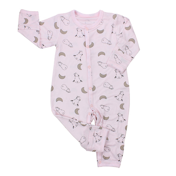 Romper Small Moon & Sheepz Pink