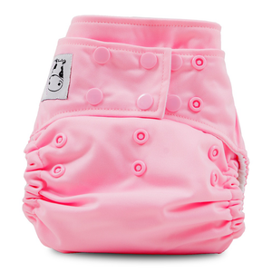Cloth Diaper One Size Snap - Sweet Pink