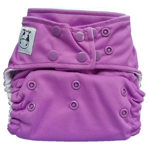 Cloth Diaper One Size Snap - Violet