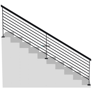 Garde-corps et rambarde escalier lisses