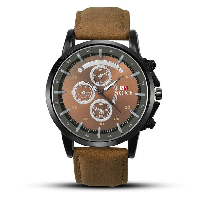 Luxury Luminous Military Sports Quartz Watch