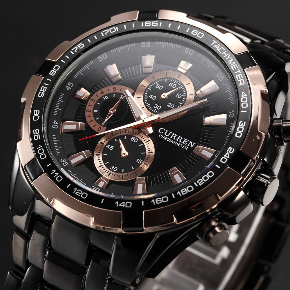 Analog Military Sports Waterproof Relogio Masculino Watch