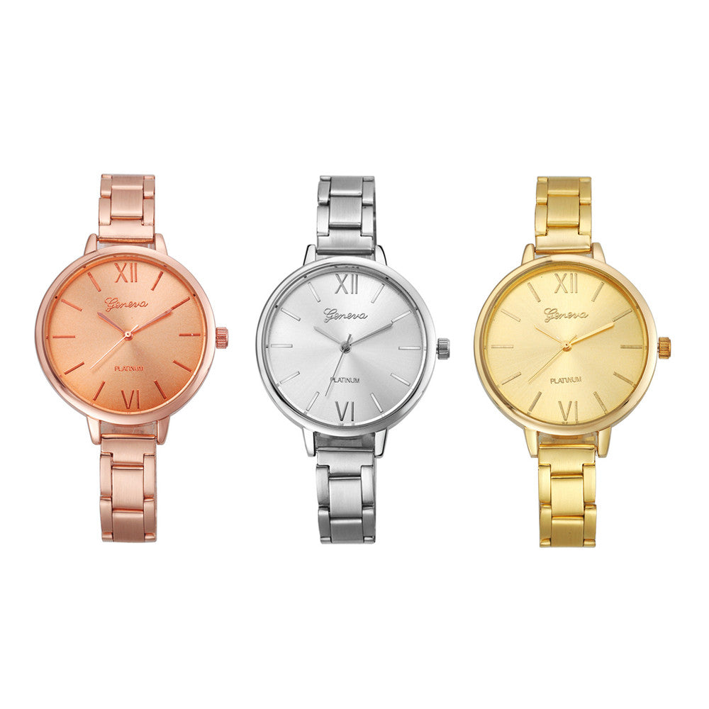 Slim Light Analog Quartz Wrist Watch