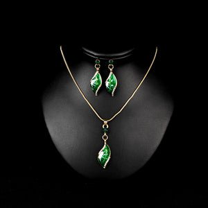 Jewelry Set of Necklace And Earring