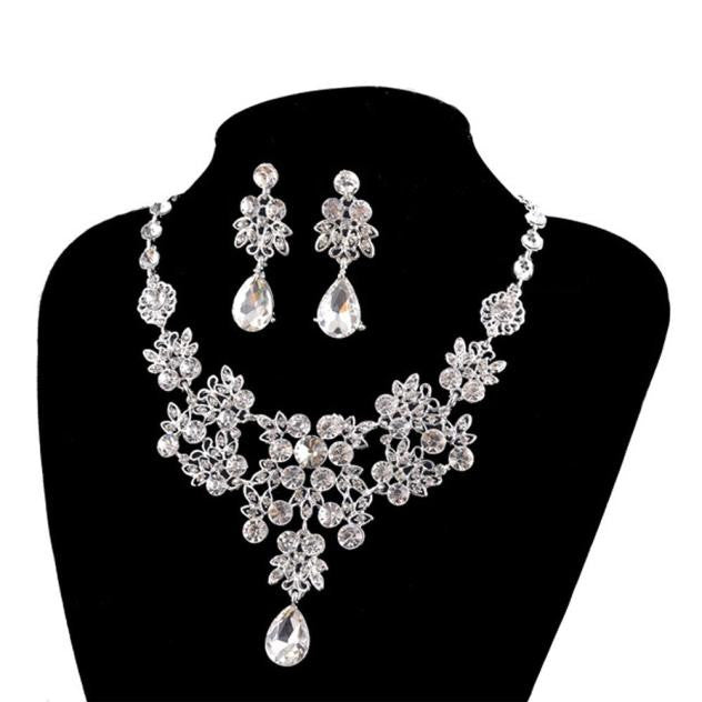 Earrings & Pendant Necklace Jewelry set