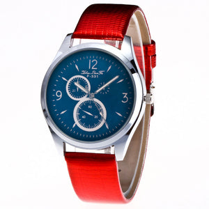 Candy Color Strap Wrist Watch