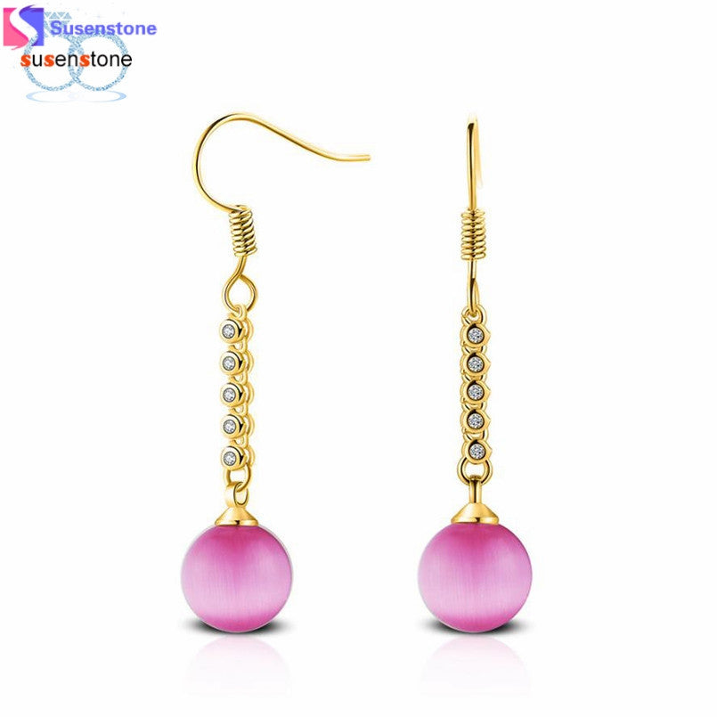 Pearl Stud Dangle Earrings