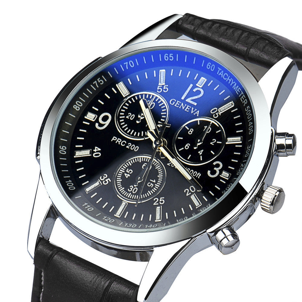 Blue Ocean Quartz Waterproof Watch