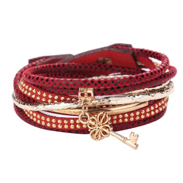 Multilayer Beaded Bohemian Bracelet