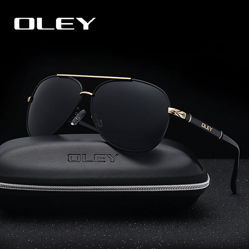 Unisex Polarized Fashion Classic Pilot Sunglasses Goggles Shades .